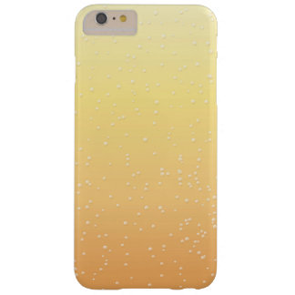 Champagne with Tiny Bubbles Background Art Barely There iPhone 6 Plus Case