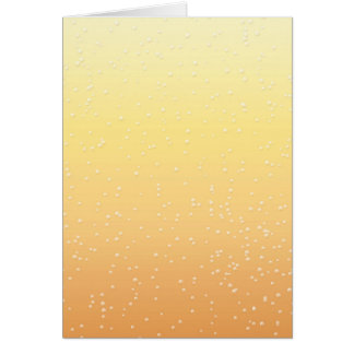 Champagne with Tiny Bubbles Background Art Card