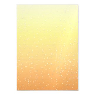 Champagne with Tiny Bubbles Magnetic Card