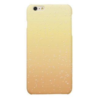 Champagne with Tiny Bubbles Matte iPhone 6 Plus Case