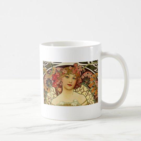 Champagne Woman 1897 - F. Champenois Imprimeur Coffee Mug