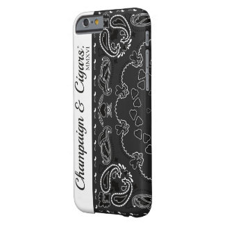 Champaign & Cigars. - Ghetto Phonecase Barely There iPhone 6 Case