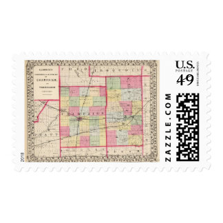 Champaign, Vermillion counties Stamp