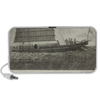 Champan, a Chinese Boat Boat of Formosa Portable Speaker