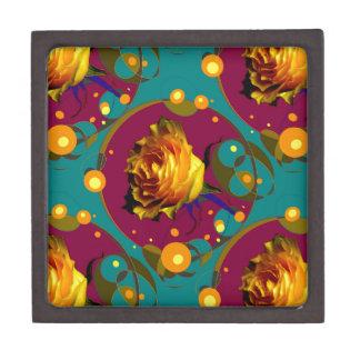 Champán color de rosa de oro burbujea los regalos cajas de regalo de calidad