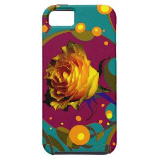 Champán color de rosa de oro burbujea los regalos iPhone 5 carcasa