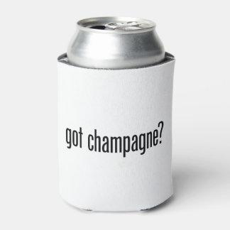 champán conseguido enfriador de latas