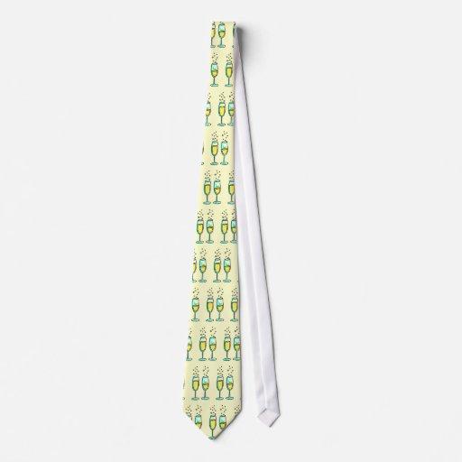 champán corbata