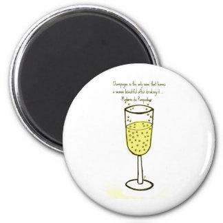 Champán es la única impresión del vino… de Jill Imán Redondo 5 Cm