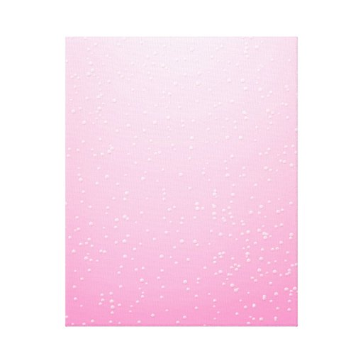 Champán rosado con arte minúsculo del fondo de las impresión de lienzo