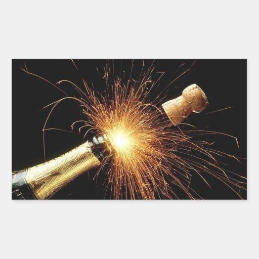 Champaña para el nuevo año -