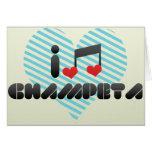 Champeta fan card