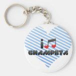 Champeta fan keychain