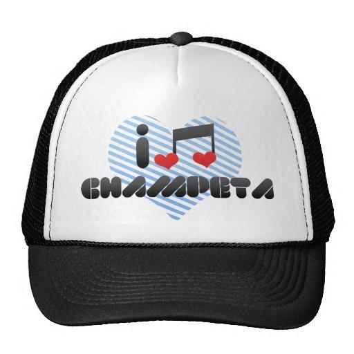 Champeta fan mesh hats