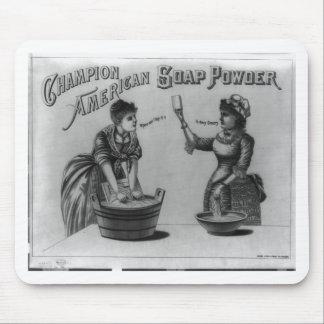 Champion American Soap Powder 1887 Mouse Pad