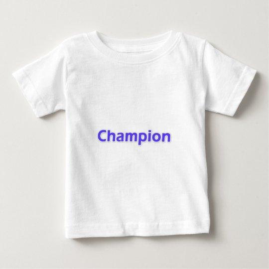 Champion Baby T-Shirt