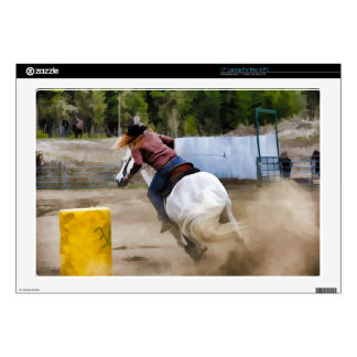 Champion Barrel Racer Laptop Skin