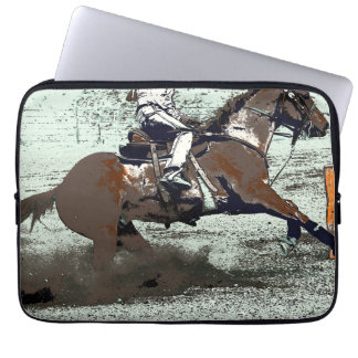 Champion Barrel Racer Computer Sleeves