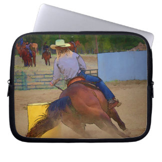 Champion Barrel Racer Laptop Sleeve