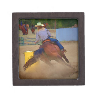Champion Barrel Racer Premium Jewelry Box