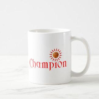 CHAMPION - BASKETBALL COFFEE MUG