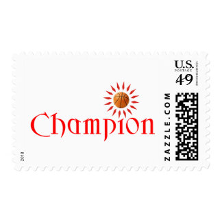 CHAMPION - BASKETBALL POSTAGE