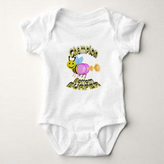 champion bottom burper baby bodysuit