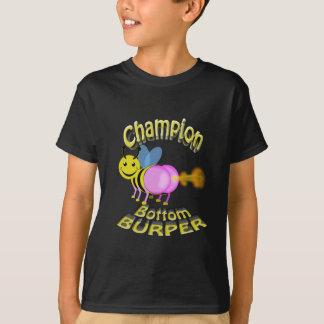 champion bottom burper T-Shirt