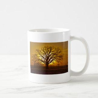 Champion Bur Oak Sunset Classic White Coffee Mug