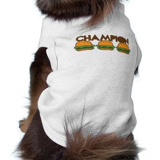 CHAMPION BURGERS yum! Doggie Tee