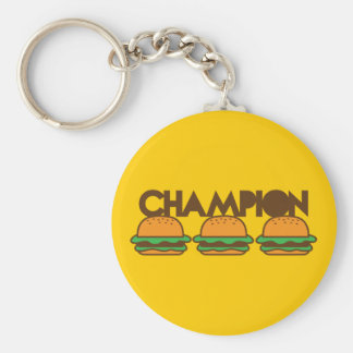 CHAMPION BURGERS yum! Keychain