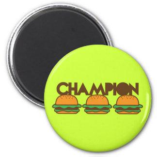 CHAMPION BURGERS yum! Magnet