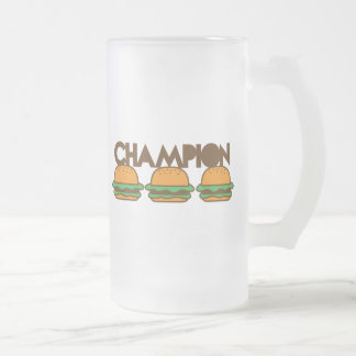 CHAMPION BURGERS yum! Mugs