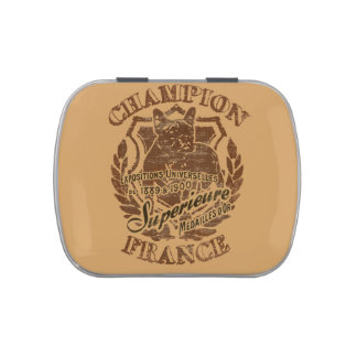 Champion Candy Tin
