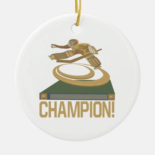 Champion Christmas Ornament