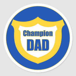 Champion DAD - Sticker