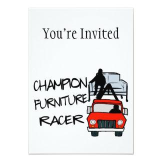 Champion Furniture Racer Card