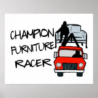 Champion Furniture Racer Poster