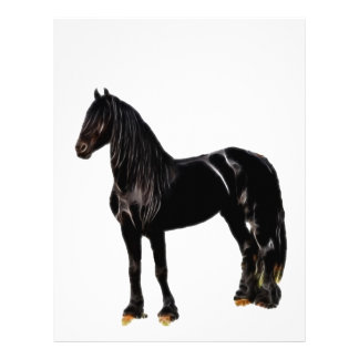 Champion horse customized letterhead