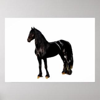 Champion horse poster