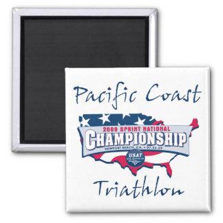 Champion Logo 2 Inch Square Magnet