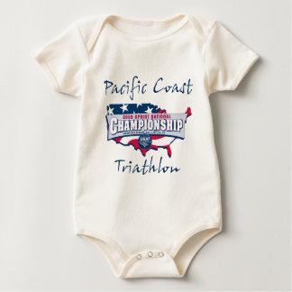 Champion Logo Baby Bodysuits