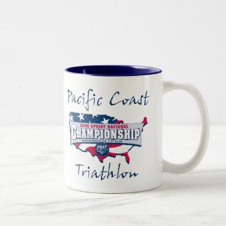 Champion Logo Two-Tone Coffee Mug