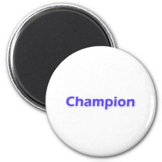 Champion Fridge Magnet