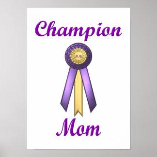 Champion Mom (Rosette) Print