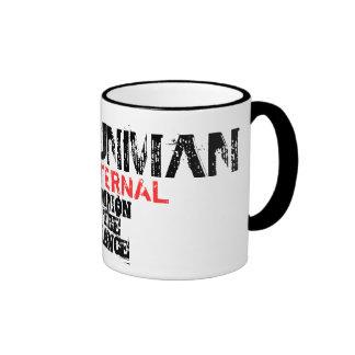 CHAMPION OF THE ALLIANCE RINGER COFFEE MUG