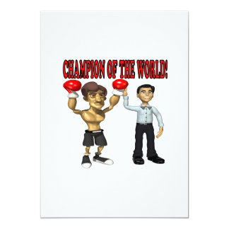Champion Of The World Card