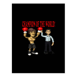 Champion Of The World Postcard