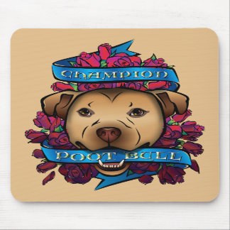 Champion Poot Bull Mouse Pad