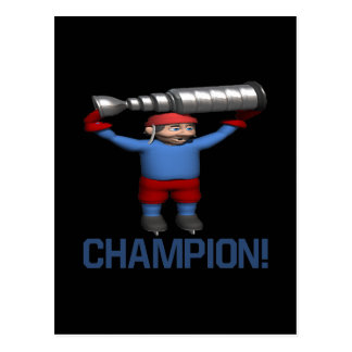 Champion Postcard